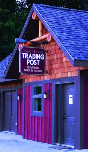 Trappers trading post