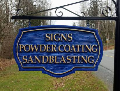 Finished Sign