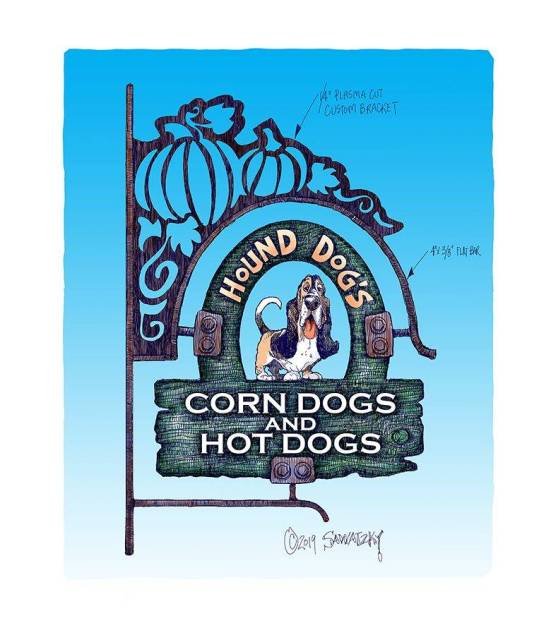 hound dogs