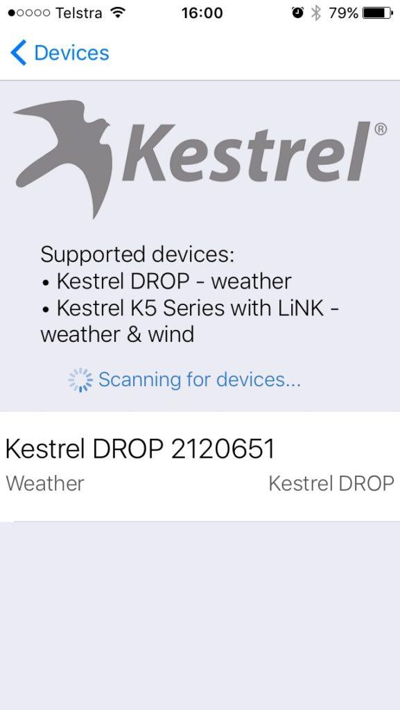 Kestrel Drop Ballistics/Ballistic AE installation 8