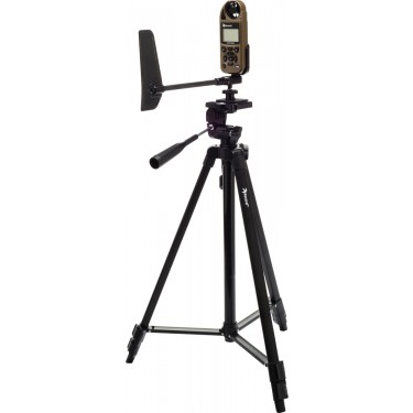 Kestrel Sportsman Weather Meter with Applied Ballistics on tripod with vane mount