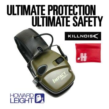 Howard Leight Impact Sports Headphones & Killnoise Earplugs