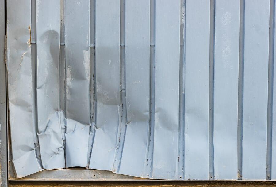 How to Fix a Garage Door Dent  Precision Garage Doors