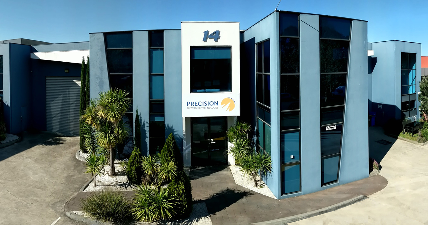 Front view of Precision Office