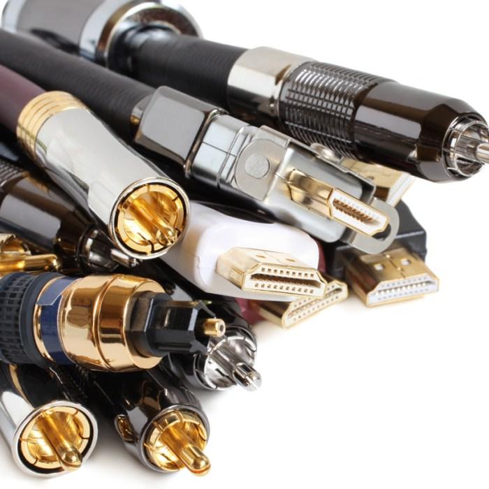 Audio & Video Cables HDMI RCA