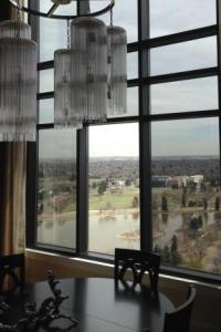 A penthouse we installed window tint on in the Cherry Creak area of Denver.
