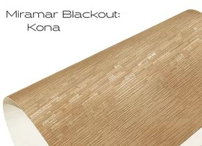 Elements Blakout Kona window shade fabric