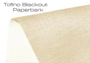 Elements Tofino Blackout Paperbark window shade fabric