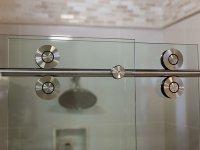 Series 1000 Barn Style Sliding Door  Precision Glass & Shower