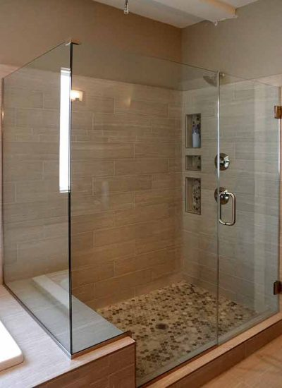 Frameless Glass Showers Doors  Precision Glass  Shower