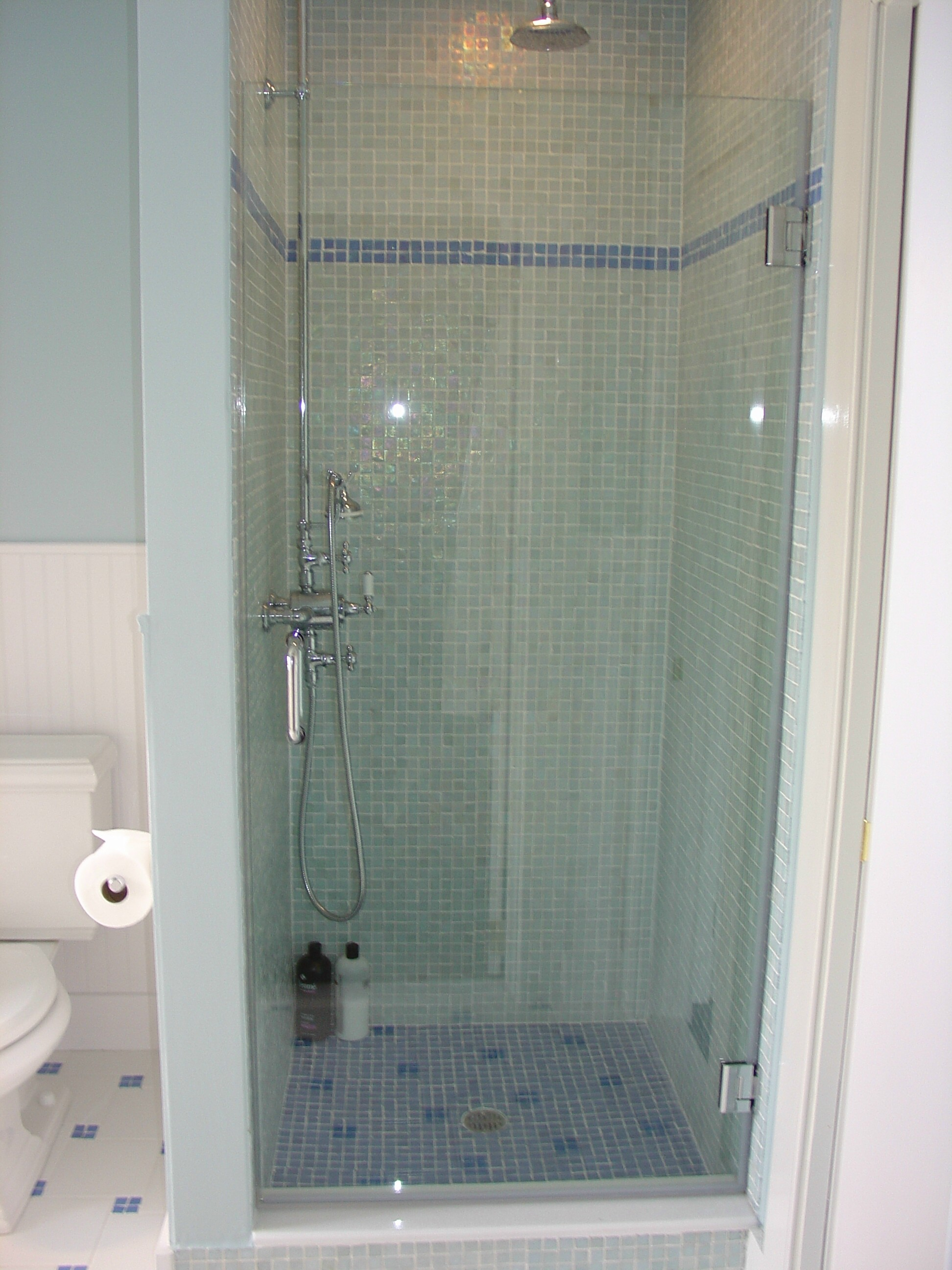 Put Rain X On Your Shower Doors To Make Water Bounce Right
