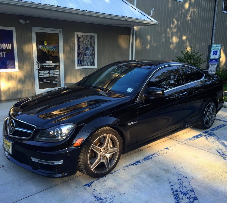 Mercedes C63 AMG Looks Great & Offers Skin Cancer Protection