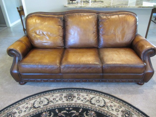 restoring leather sofa bed sectional dallas furniture restoration and repair onsite before