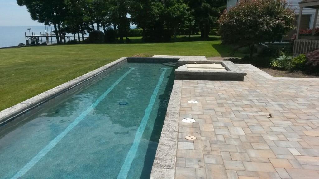 inground lap pool,