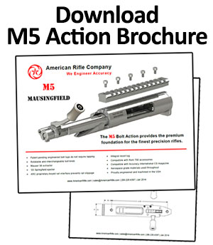 American Rifle Company M5 Action Brochure