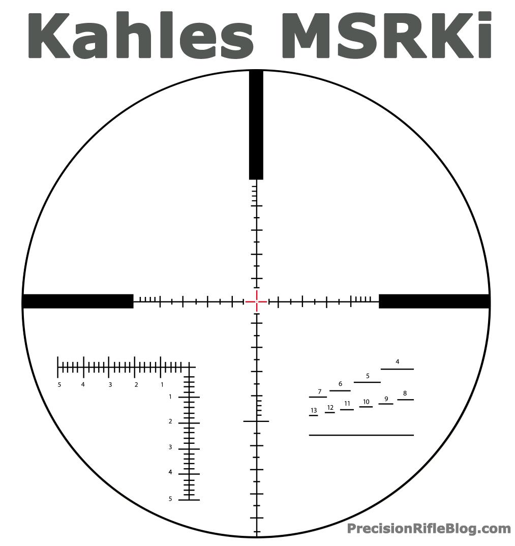 Kahles MSRKi MSR Scope Reticle