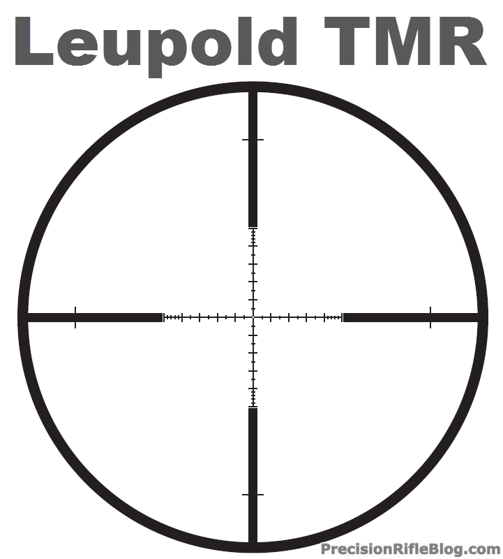 Leupold tmr reticle manual