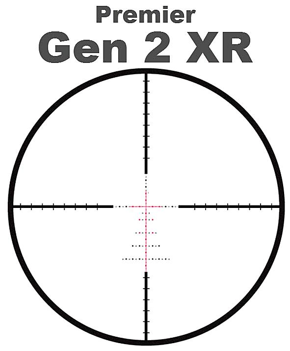 Premier Gen 2 XR GenII Gen-II XR Scope Reticle