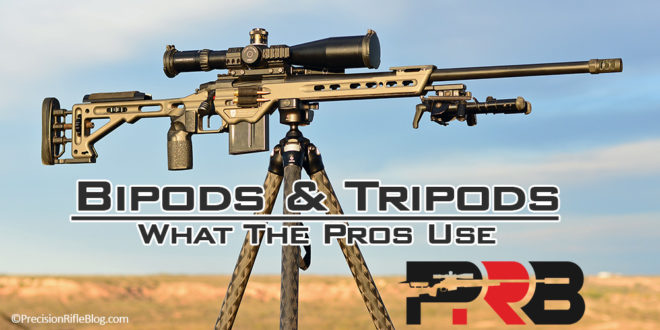 rifle bipods tripods what