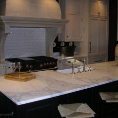 Granite Kitchen Counters Rock Backsplash Atlanta Countertops Precision Stoneworks