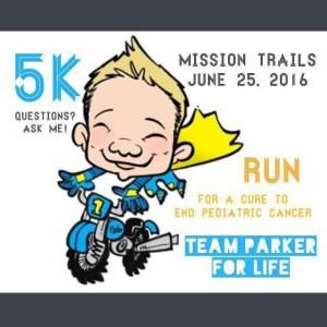 Team Parker For Life 5k