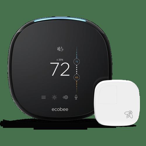 Ecobee smart thermostat installation, best temperature setting