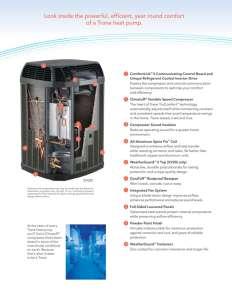 Train Heat Pump Installation