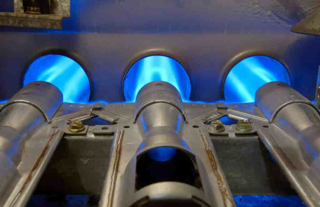 gas furnace flames