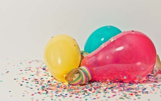 inflate a balloon with yeast, science experiment