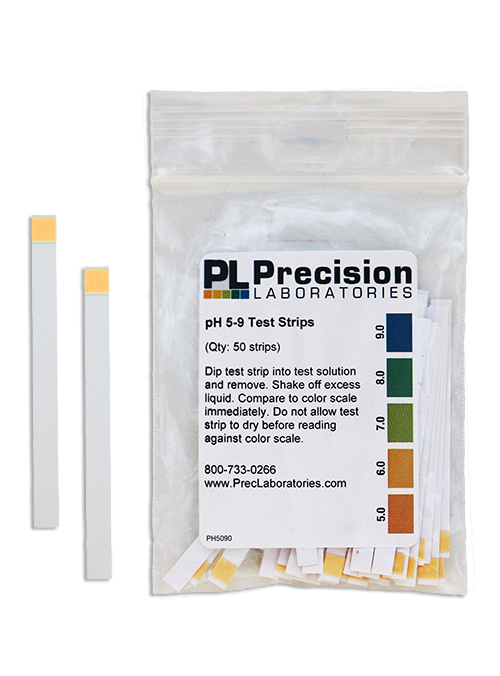 pH Test Strips 5-9, pH 5-9 test strip, soil pH