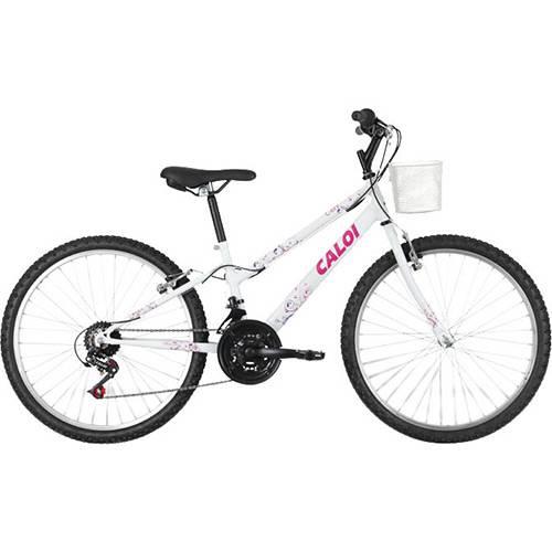 【Qual o Preço?】→ Preço Bicicleta Ceci Aro 24 Branca 21v