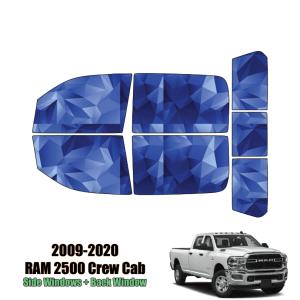 2009 – 2020 RAM 2500 Crew Cab – Full Truck Precut Window Tint Kit Automotive Window Film