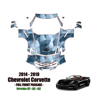 2014 – 2019 Chevrolet Corvette Stingray Paint Protection Kit (Full Front)