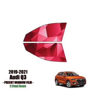 2019 – 2021 Audi Q3 – 2 Front Windows Precut Window Tint Kit Automotive Window Film
