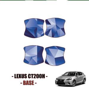 2014-2021 Lexus CT200h Base – Precut Paint Protection Kit (PPF) – Door Cups