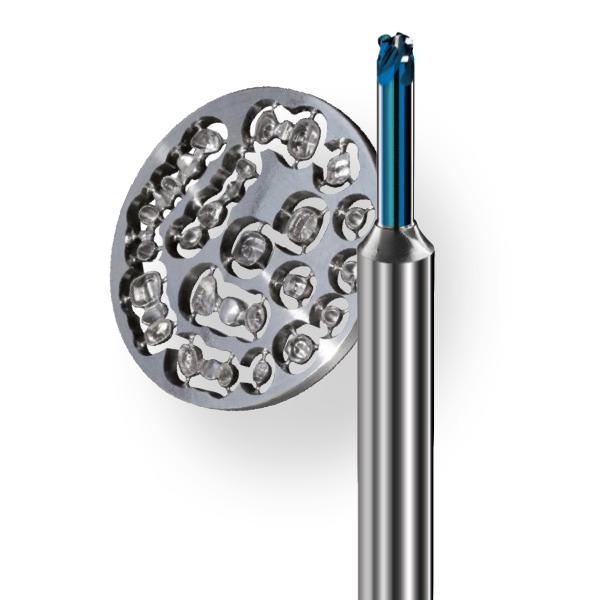 Precxis outils dentaires et medicaux - Matiere CAD-CAM Chrome Cobalt Titane