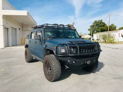 small resolution of for sale marine blue kevlar coated 2007 hummer h2