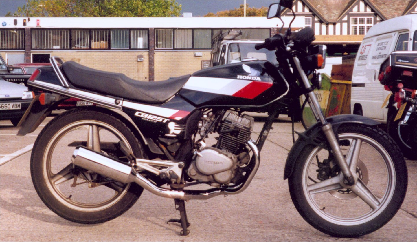 hight resolution of honda cb125tdc superdream pro link exhaust system with removable baffle brushed stainless