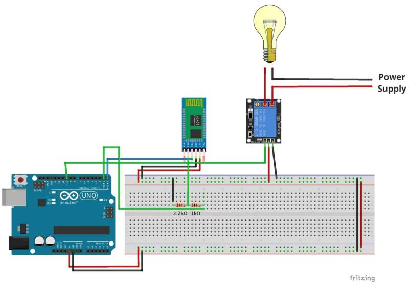 Basic Electrical Wiring Diagram Maker Home Automation With An Arduino A Basic Tutorial