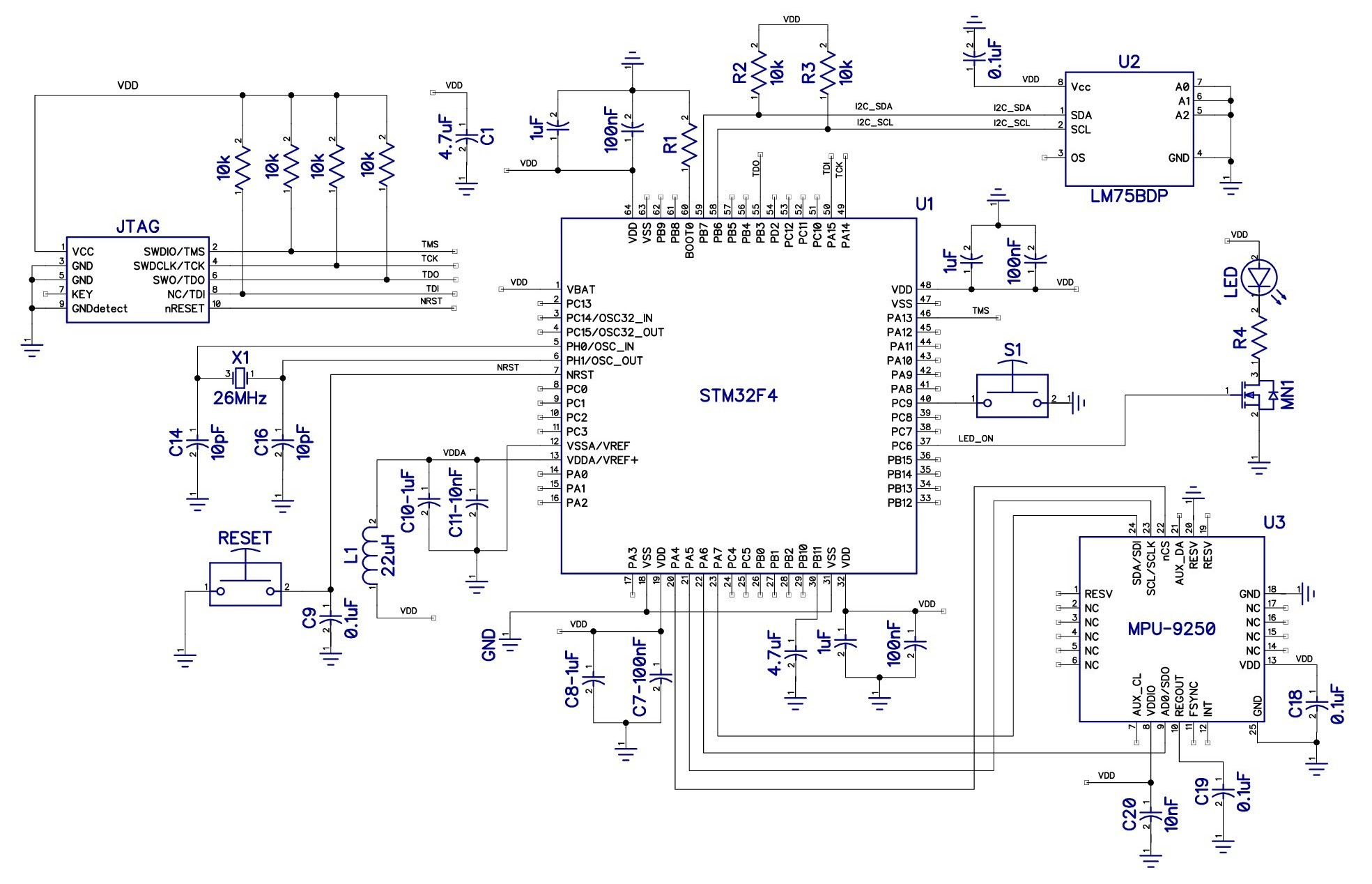 How To Design A Microcontroller Circuit Make Schematic Drawing With Eagle Build Electronic Circuits Figure 1 Click View Larger Image