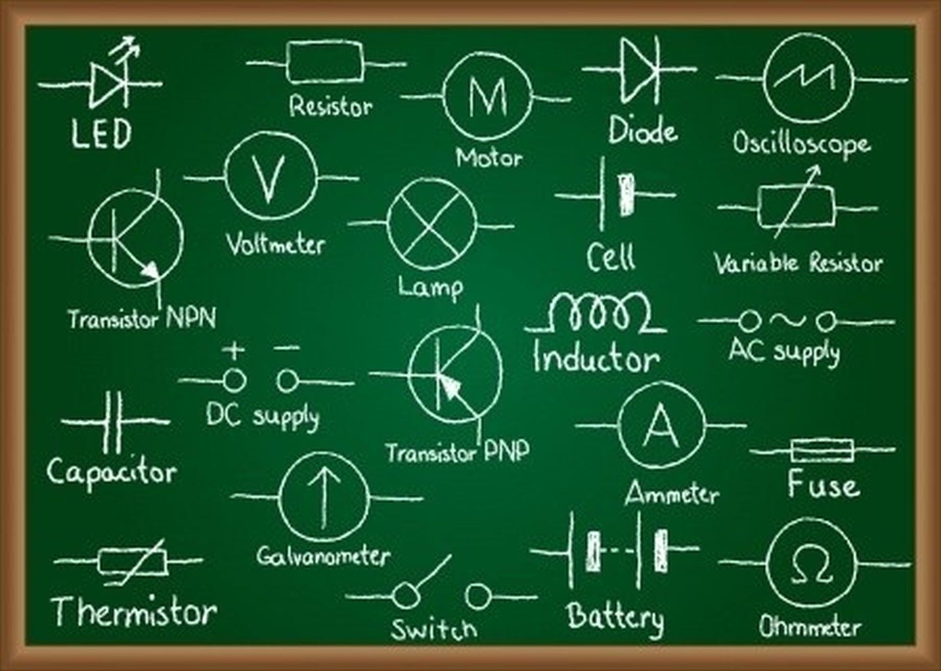 electronic circuit symbols
