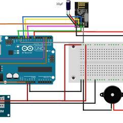 Block Diagram Of Sim Card 700r4 Converter Lockup Wiring How To Build A Gsm Cellular Panic Alarm Using An Arduino