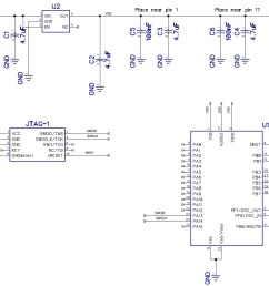 schematic circuit diagram for microcontroller circuit [ 1353 x 930 Pixel ]