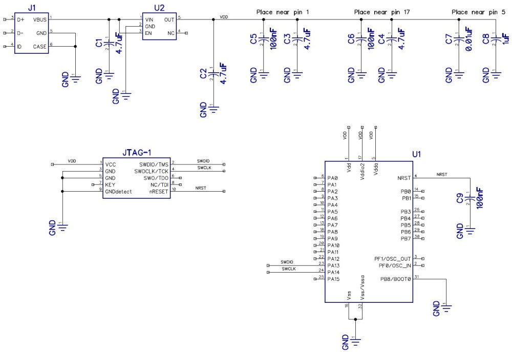 medium resolution of schematic circuit diagram for microcontroller circuit