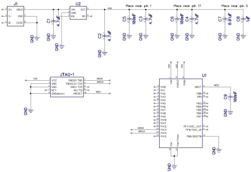 small resolution of schematic circuit diagram for microcontroller circuit