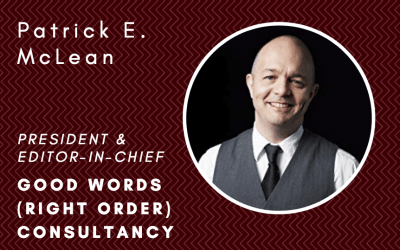 How to kill words and communicate clearly with Patrick E. McLean