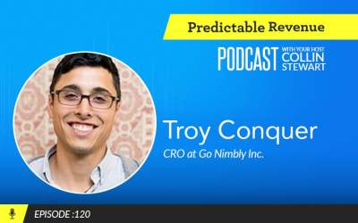 The art of selling services: How Go Nimbly's Troy Conquer listens, educates, and executes revenue operations consulting