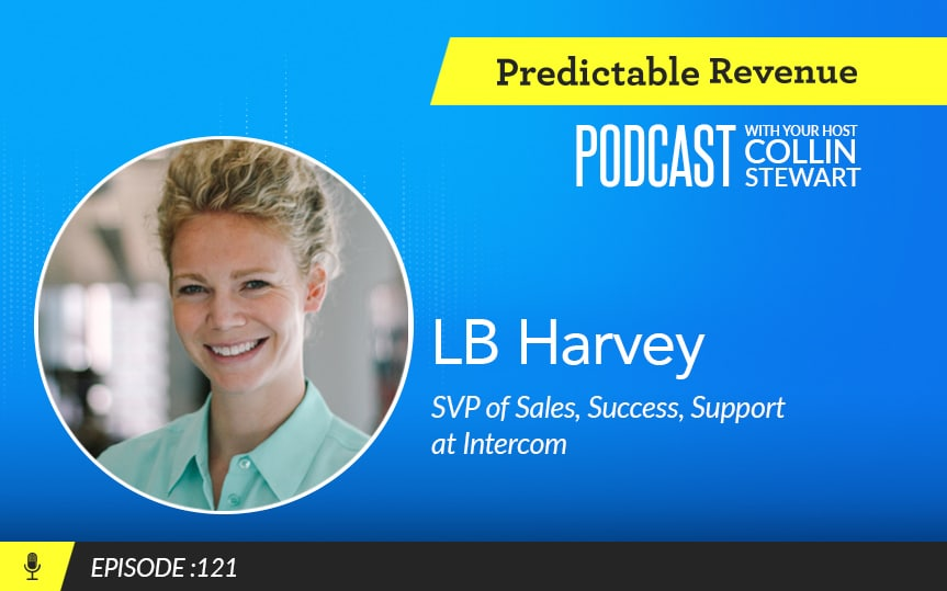 Climbing the ladder: How early sales managers can grow, stand out, and take on senior roles with Intercom's LB Harvey
