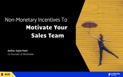 Non-monetary Incentives to Motivate Your Sales Team