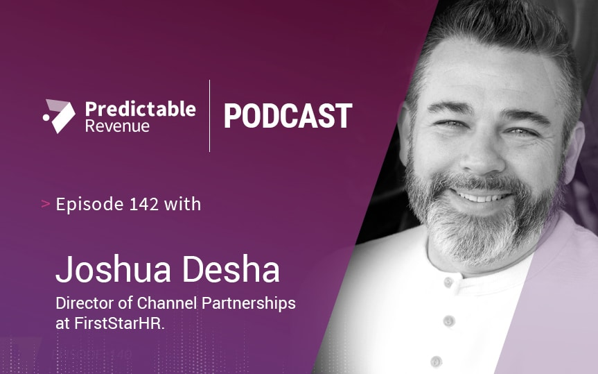 The rise of the anti-metrics sales leader with Joshua Desha